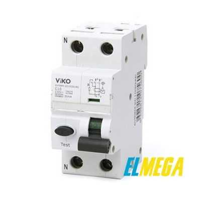 Дифференциальный автомат Viko 2P 25A 30mA