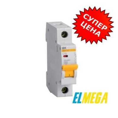 Автоматический выключатель 16A 1P IEK