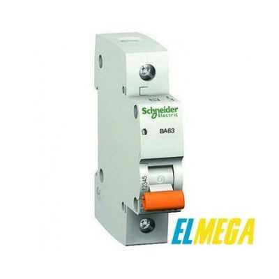 Автоматический выключатель 10A 1P Schneider