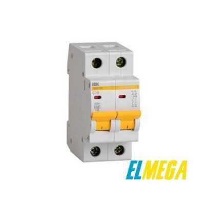 Автоматический выключатель 10A 2P IEK