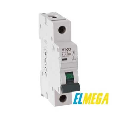 Автоматический выключатель 16A 1P Viko