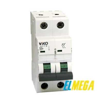 Автоматический выключатель 16A 2P Viko