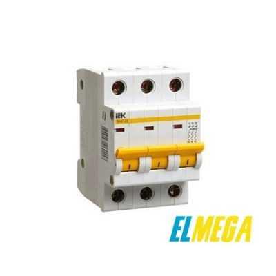 Автоматический выключатель 25A 3P IEK