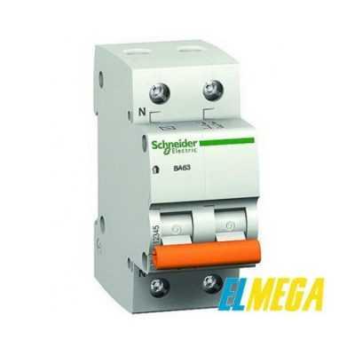 Автоматический выключатель 6A 2P Schneider