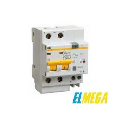Дифференциальный автомат IEK 2P С16 30mA