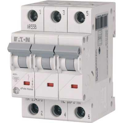 Автоматический выключатель 6A 3P Eaton