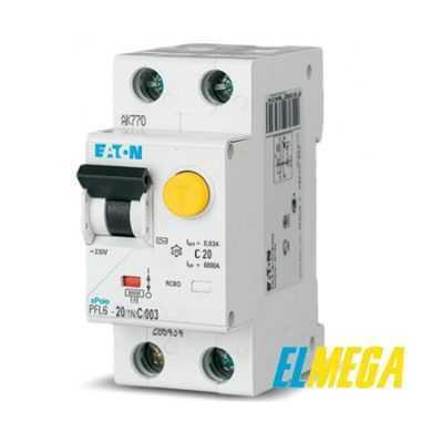 УЗО и дифференциальные автоматы Eaton
