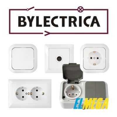 Розетки и выключатели Bylectrica