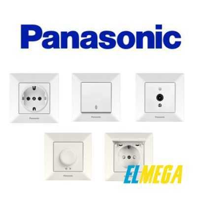 Розетки и выключатели Panasonic