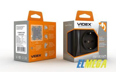 Розетка Videx Binera. Описание и общие характеристики