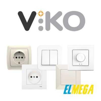 Розетки и выключатели Viko