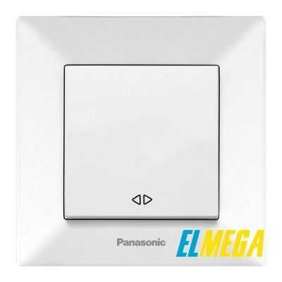 Выключатель перекрестный Panasonic Arkedia Slim белый