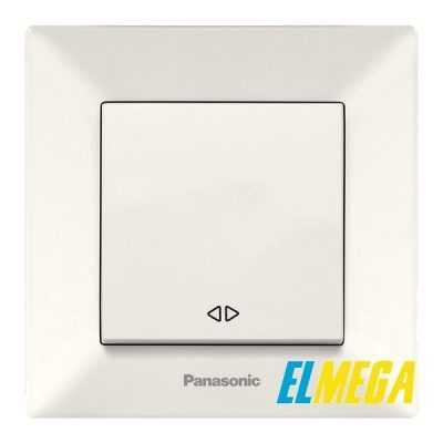 Выключатель перекрестный Panasonic Arkedia Slim крем