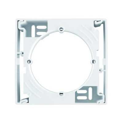 Короб 1-местный для внешнего монтажа Schneider Asfora белый