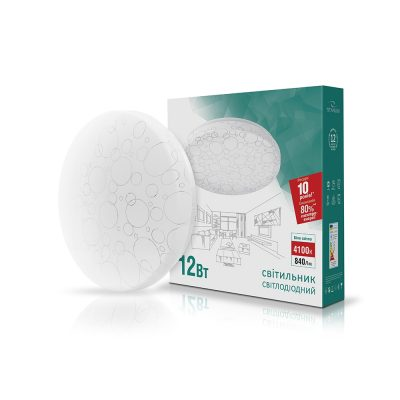 LED светильник TITANUM 12W 4100K Кольца