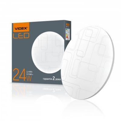 LED светильник VIDEX 24W 4100K Прямоугольники