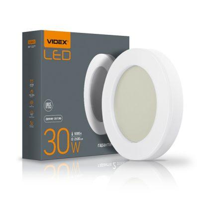 LED светильник ART IP65 круглый VIDEX 30W 5000K