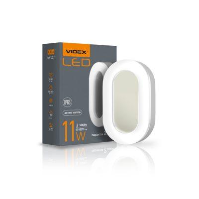 LED светильник ART IP65 овальный VIDEX 11W 5000K